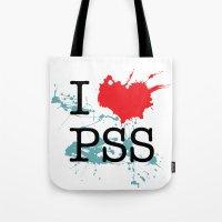 I Love Paesello Tote Bag