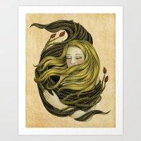An Embrace Art Print