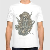 Deadliest Catch Mens Fitted Tee White SMALL