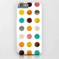 Autumnal Polka Dot iPhone 6 Slim Case