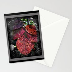 Speckled Leafs Stationery Cards