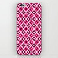 Morrocan Manor in Pink iPhone & iPod Skin