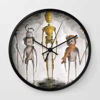 The Golden One Wall Clock