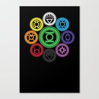 Living In Colour Canvas Print