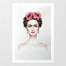 Frieda Art Print