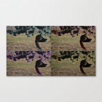 Greedy Squirrel II Canvas Print