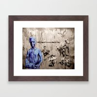 MARN HOL FAST - Contract… Framed Art Print