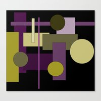 Abstract Geometric #1 Canvas Print