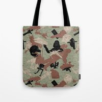 Endor Battle Camo Tote Bag
