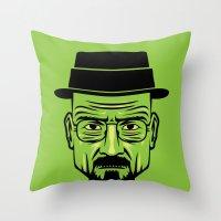 Walter White Portrait.  Throw Pillow
