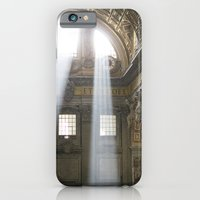 iPhone & iPod Case featuring Sun rays in the Vatican by Theresia Pauls