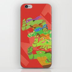 TMNT - Bros! iPhone & iPod Skin