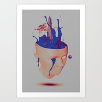 Plastic Life Art Print