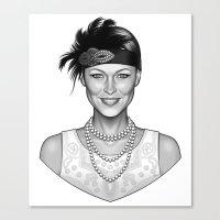 Emma's Charm Canvas Print