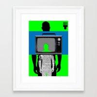 Brother/Man: Always Onstage Framed Art Print