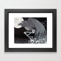 Angel Of Death Framed Art Print