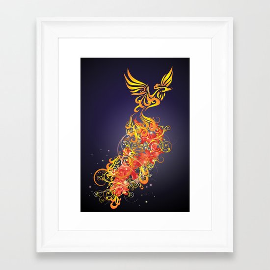 Phoenix Nights Framed Art Print