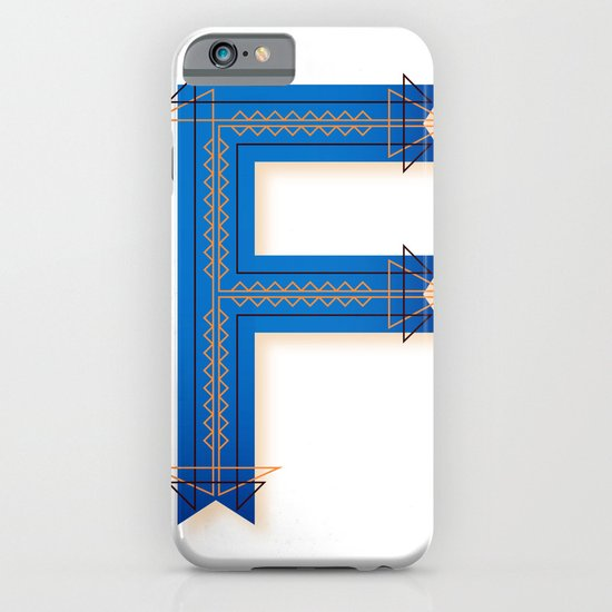 The Letter F iPhone & iPod Case