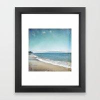 Strand Framed Art Print