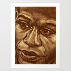 the money Art Print