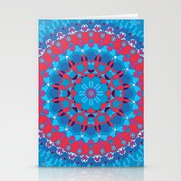 Octagon Rosette 002 | Contrast Stationery Cards