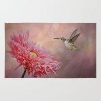 A Hummingbirds Dance Rug