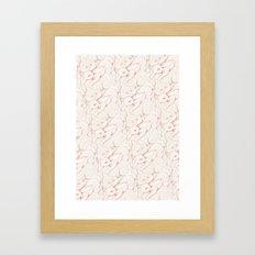 The Fox & Hare Framed Art Print