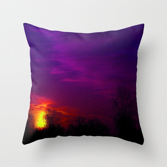 Last Time Throw Pillow