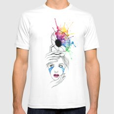 Music understands White SMALL Mens Fitted Tee