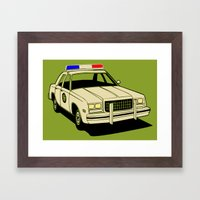 cop Framed Art Print