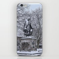 Tennyson In The Snow iPhone & iPod Skin