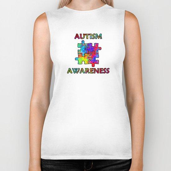 Autism Awareness Biker Tank