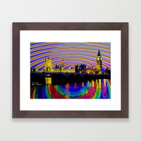 Big Ben fancy Framed Art Print