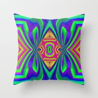 Ornamental Design Throw Pillow