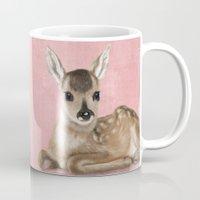 Portrait Of A Small Fawn… Mug
