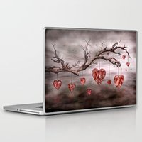 Laptop & iPad Skin featuring The new love tree by teddynash