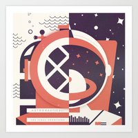 Astronautical: The Final… Art Print