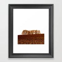 Autumn Field II Framed Art Print