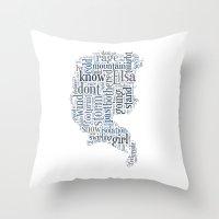 Elsa  Throw Pillow