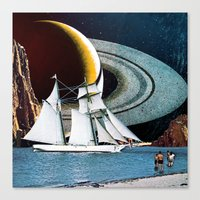 Orbital Sailing Canvas Print
