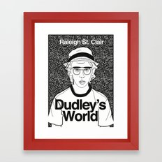 Dudley's World Framed Art Print