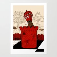 The Rook Art Print