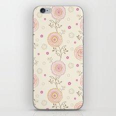 Folky Flowers iPhone & iPod Skin