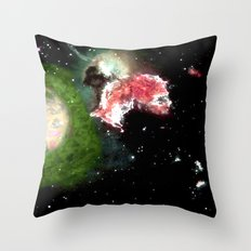 Birth of a Nebula Throw Pillow