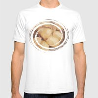 White Muscat Grapes Mens Fitted Tee White SMALL