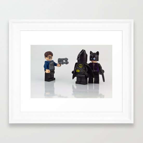 You said he would be cool Framed Art Print