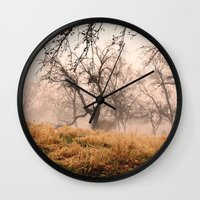 Natural Mystic In The Ai… Wall Clock