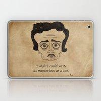 Poe Cat Laptop & iPad Skin