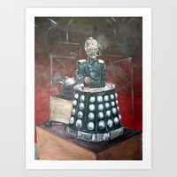 Davros Innocent X Art Print