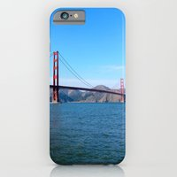 iPhone & iPod Case featuring Golden Gate by laurmatay